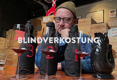 Blindverkostung Wein am Limit