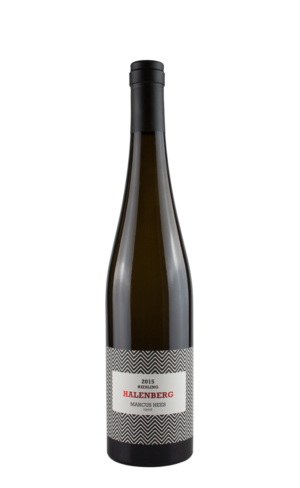 "2015 Riesling ""Halenberg"" – weiss- 0,75l Weingut Hees"