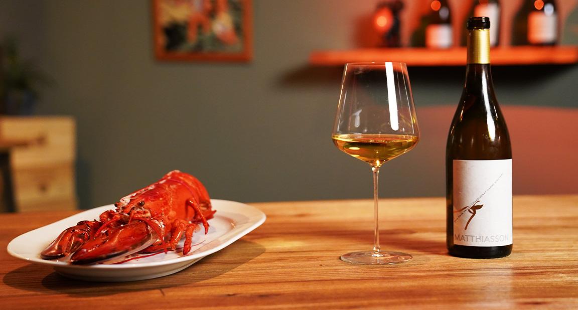 Hummer und Chardonnay ... DIe perfekte Kombination